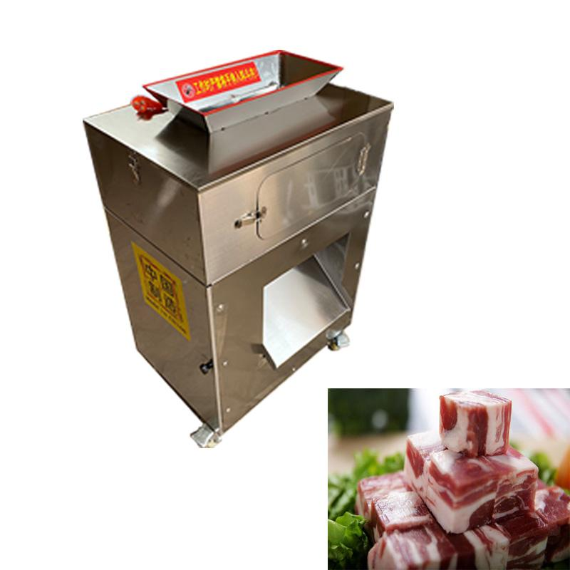 acero CE 220V inoxidable máquina de corte pequeña de pollo, máquina de corte de pollo totalmente automático comercial eléctrico secundario formando