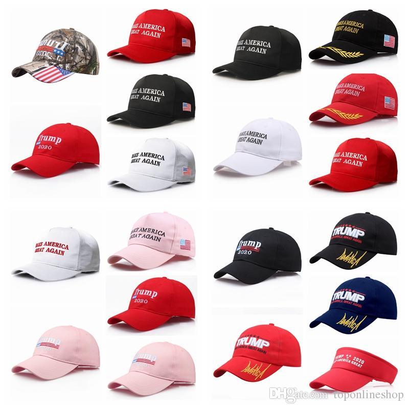 2020 الولايات المتحدة الرئاسية جعل أمريكا كبيرة مرة أخرى hatcap دونالد ترامب الجمهوري قبعة بيسبول هدية عيد الميلاد قابل للتعديل قبعة بيسبول 20 اللون