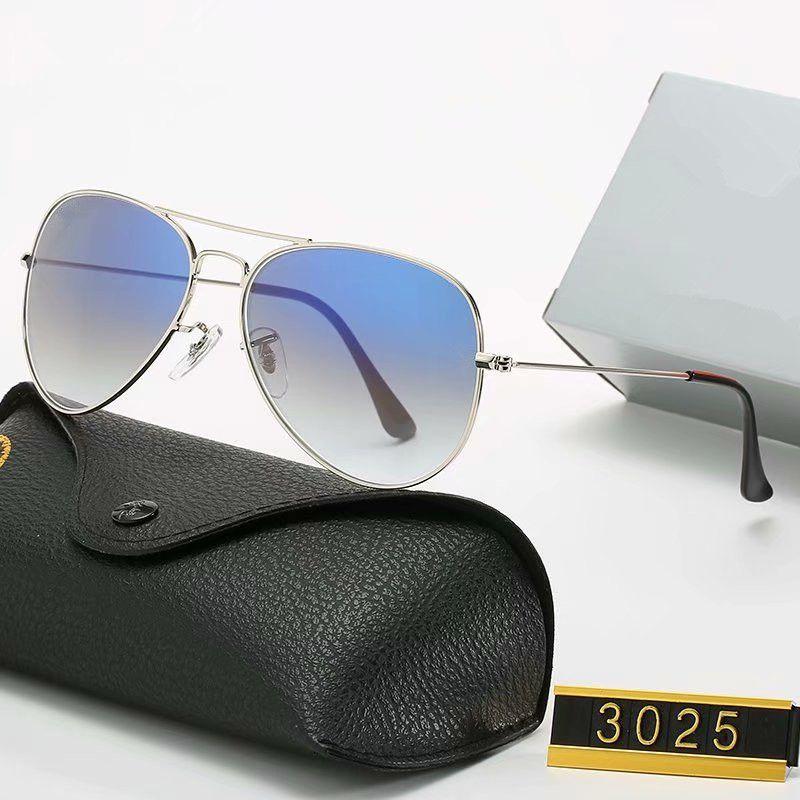 2020 Nuovi occhiali da sole polarizzati di marca Uomo Donna Pilota Occhiali da sole UV400 Design Design Driver Glasses Telaio metallico Polaroid Lens