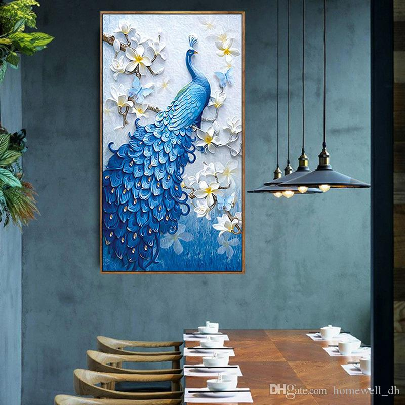 Wedding Home Decor 5d Painting Crystal Embroidery Large Environmental Pictures