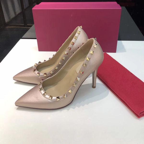Vendita calda-con la scatola originale designer di lusso scarpe così Kate stili alti calza Red Bottoms 9.5CM Genuine Leather dimensioni Gomma 34-42
