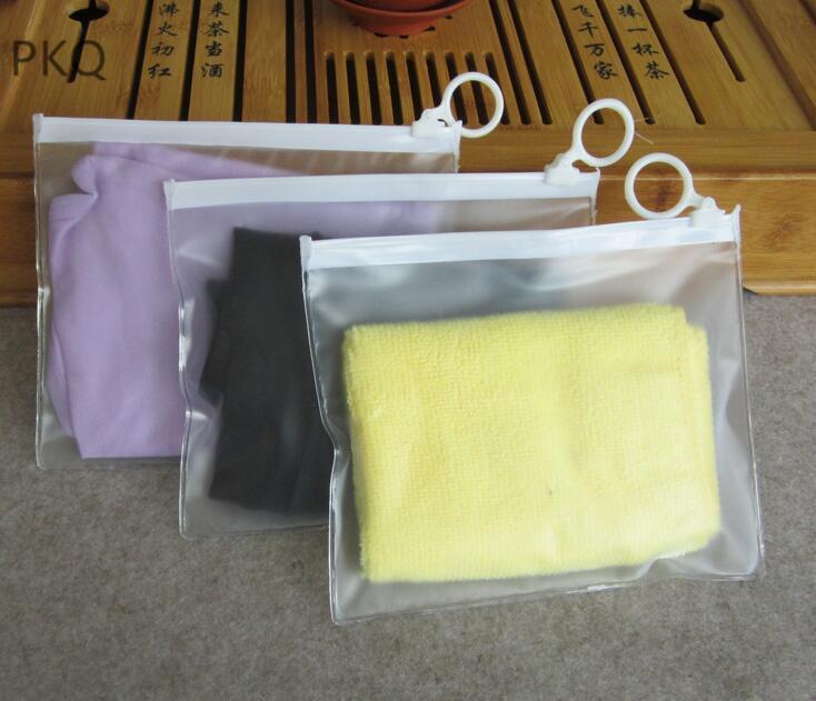 Kozmetik İç Şeffaf Plastik Ambalaj Depolama Kılıfı 16x13cm için 50pcs Küçük Çanta Fermuar Temizle Çantası