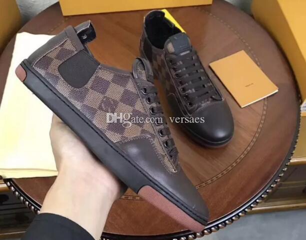 Sıcak satış yeni varış marka erkek ayakkabı moda en kaliteli yüksek top erkekler rahat ayakkabılar orijinal kutusu ücretsiz kargo size39-45 mens spor ayakkabısı VMX06