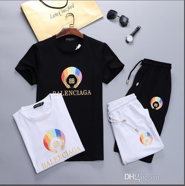 jj2019 nuevo conjunto de sudadera diseñador de los hombres corriendo ropa deportiva traje de los hombres Medusa ropa deportiva casual ropa deportiva