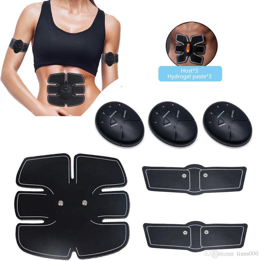스마트 EMS 전기 치료 마사지 복근 근육 자극 체중 감량 바디 슬리밍 휘트니스 훈련 건강 장치