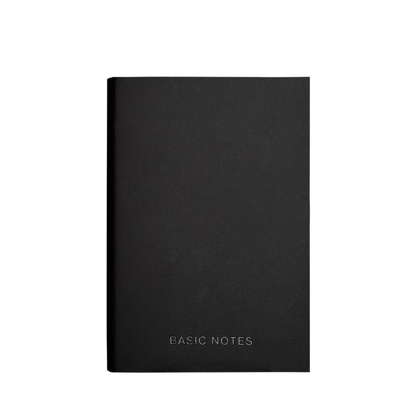 블랙 노트북 A5 스케치북 A5 라인 종이 빈 종이 노트북 미니 포켓 여행 저널 빈티지 쓰기 플래너