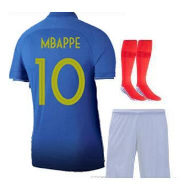 Mbappe 100ème maillot POGBA FFF 100ème maillots bleus maillot centenaire 2019 Maillot Centenaire 2019 maillot football