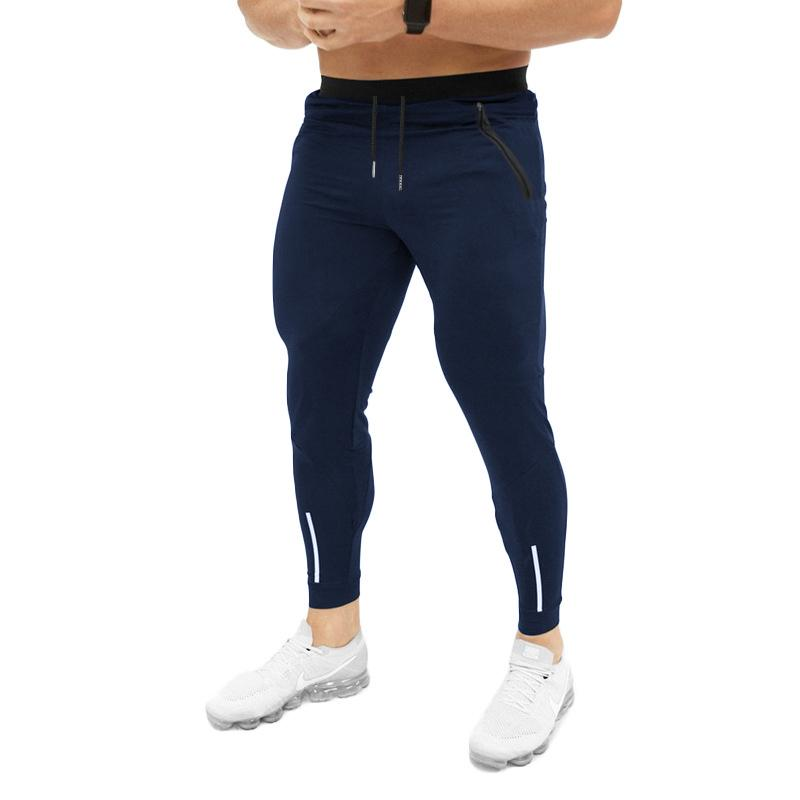 Mogu 7 Renk 2020 Vintage Yaz Yeni Moda İnce Kesit Pantolon Erkekler Casual Pantolon Jogger Vücut Geliştirme Fitness Sweatpants