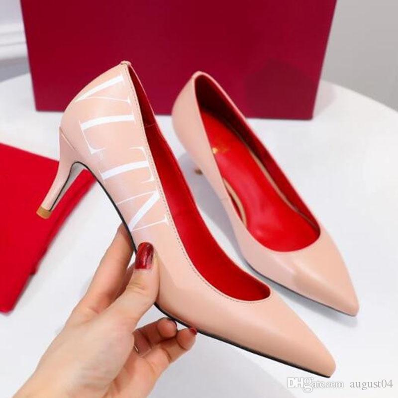 Yüksek Kaliteli 2020 kadın sandalet Seksi Kadınlar Kız Gerçek Deri Koyun postu Perçin Bandaj Nü Yüksek Topuklar Sivri Sandalet P4