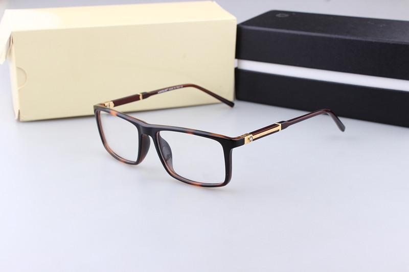 Luxury-MB551 Brand New Eye Glasses Frames for Men Glasses Frame TR90 Optical Glass Prescription Eyewear Full Frame