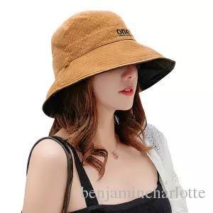 Sparsil Unisex Verão Dobrável Bucket Hat Mulheres Ao Ar Livre Protetor Solar C0otton Cap Caça De Pesca Homens Bacia Chapeau Sol Impedir