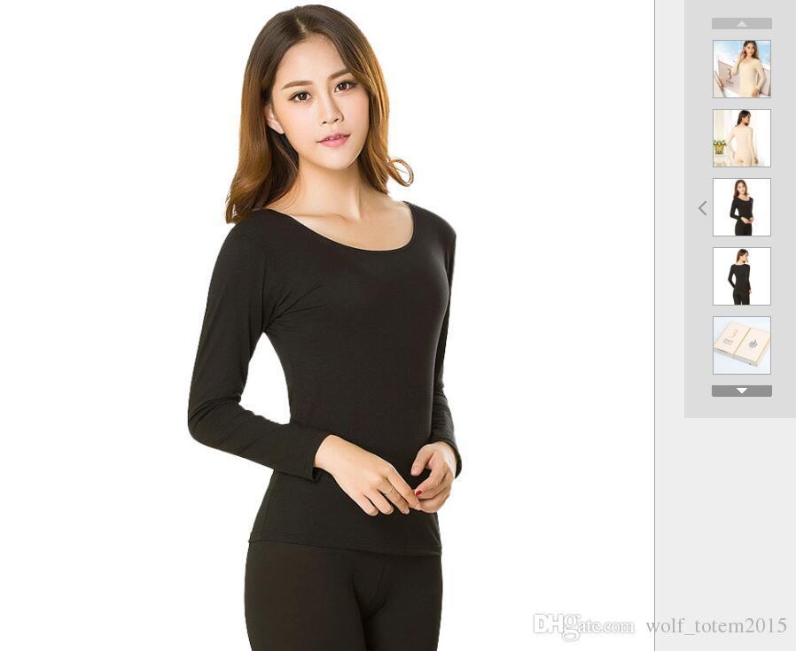 3 saniye ultra-ince termal iç çamaşırı takım elbise kadın ince 37 derece termostat ceket nefes dans astarı kumaş yumuşak, kompakt doku
