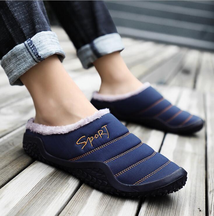 Designer-ppers Plus Velvet Warm Scuffs Thick Slipper heißen Verkauf-Groß Größe 36-48 mit dem Kasten