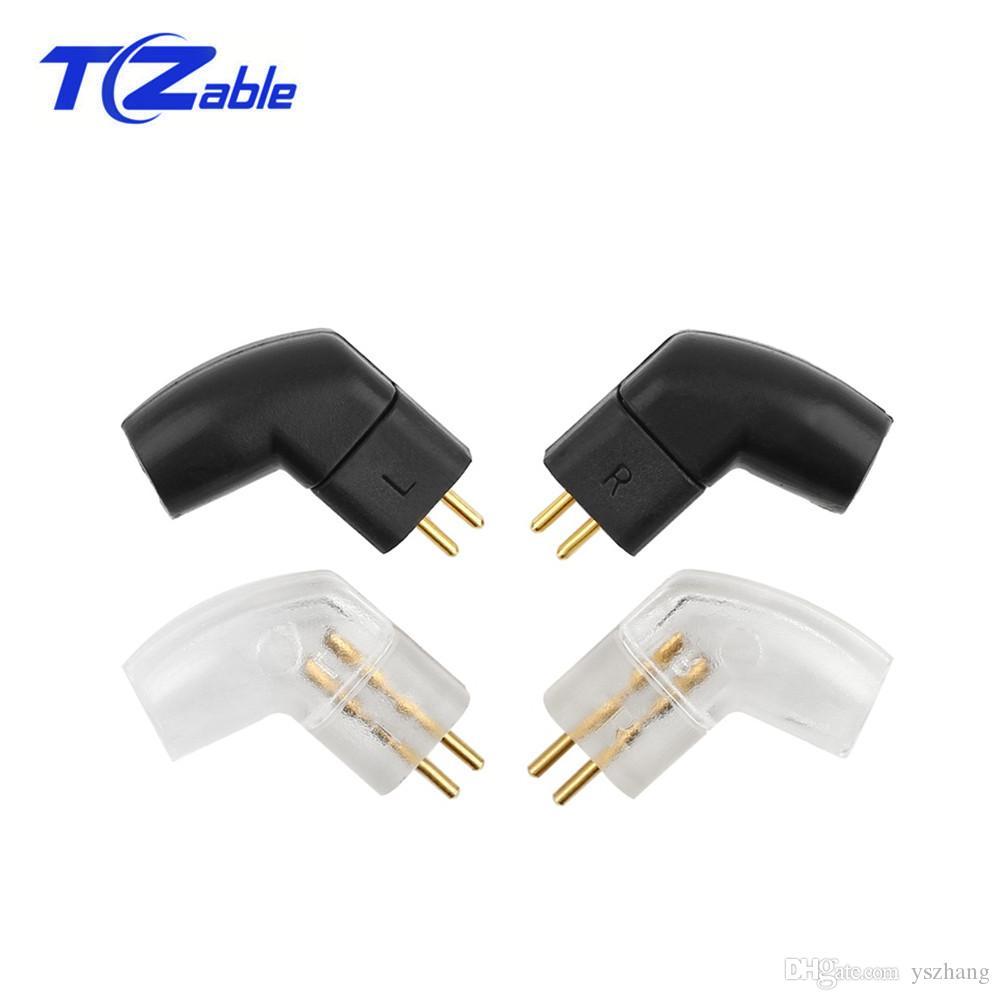 Audio Jack 0.78mm Earphone Pins Plug For JH Audio JH16 Pro JH11 W4R HiFi Headphone Splice Adapter Solder Wire Connector