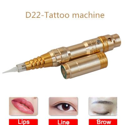 Hot sale Semi-throwing charging Dual-purpose tattoo machine High stability Adjustable eyebrow pencil Applicable eyeliner Lips Semi-permanent