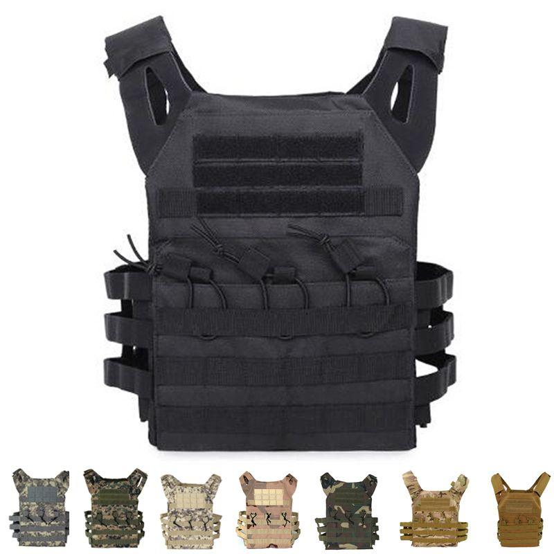 Chaleco táctico CPM versión simplificada de protección portador de la placa portador de la placa chaleco de municiones revista Body Armor
