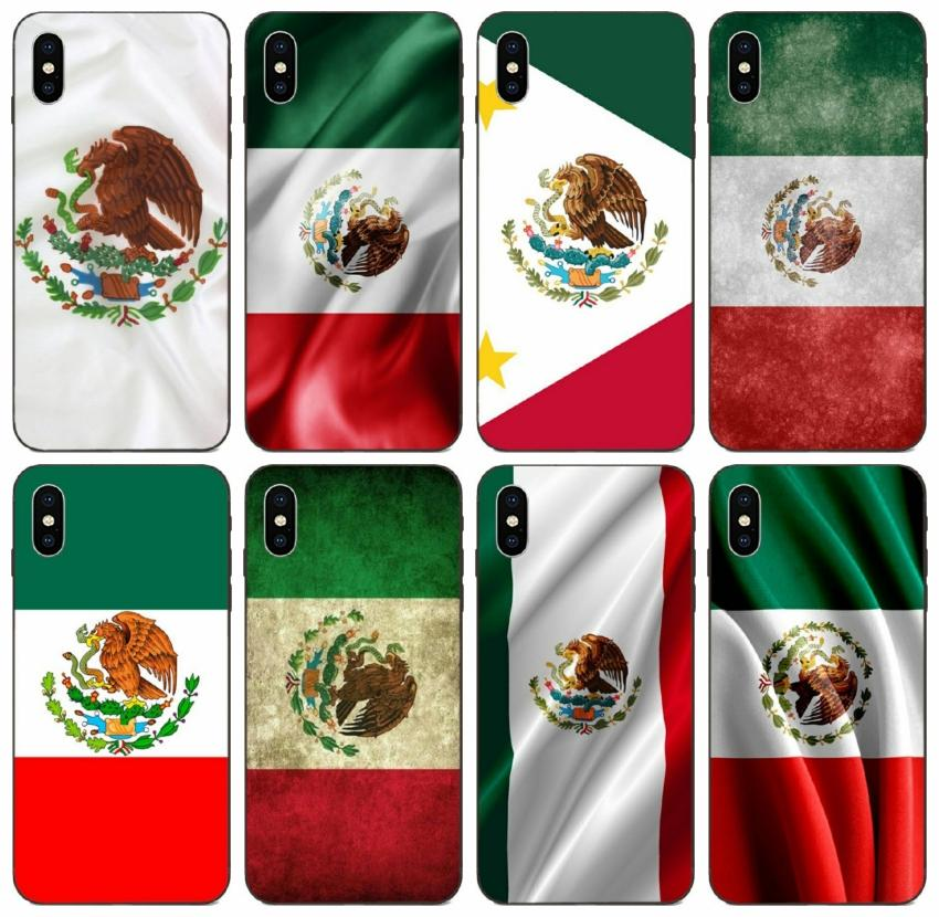 [TongTrade] Mexican Flag Case For iPhone 12 X XS Max 11 Pro 8 7 6 5 SE 2020 Case Samsung Core 8262 Prime Huawei Y9 2018 Sony Xperia Z2 Vogue