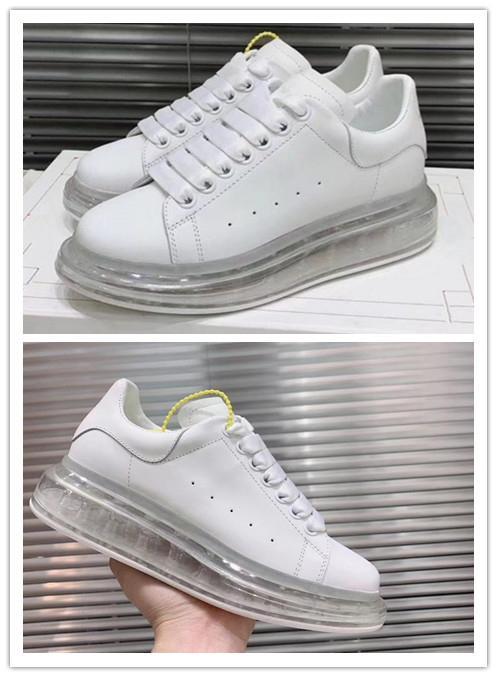2020 MQ Tasarımcı Sneakers Mens MQ küçük beyaz ayakkabı Kristal gaz alt spor rahat ayakkabı kalın taban ayakkabı S42 MQ
