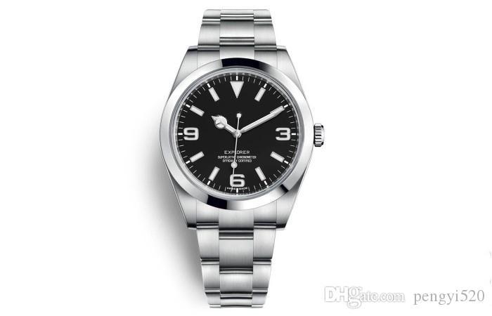 P150 Designer relógios de luxo relógios do relógio Movimento, explorador, 214270,216570, caixa de aço inoxidável, de moda high-end, nobre e elegante c