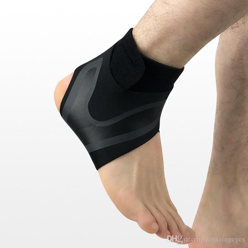 Sport Ankle Support Right Left Foot Ankle Protector Elastic High Protect Sports Ankle Equipment Safety Running Basketball Brace Support