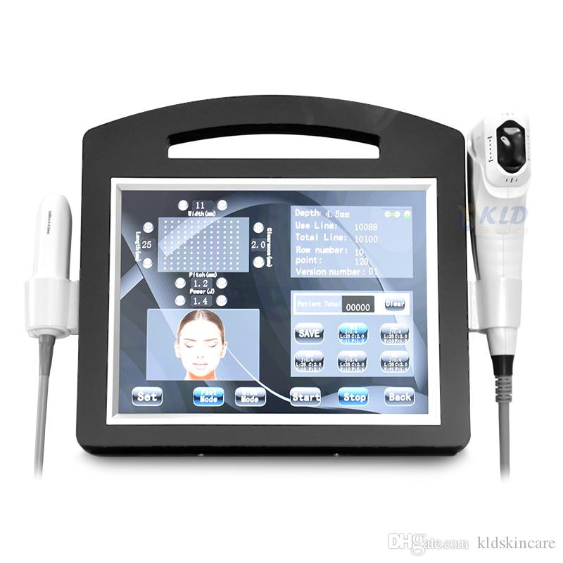 4D HIFU 3D 20100 Выстрелы HIFU VMAX 2 в 1 Лучший Hifu 11 линий 12 линий затягивании Подтяжка кожи тела для похудения