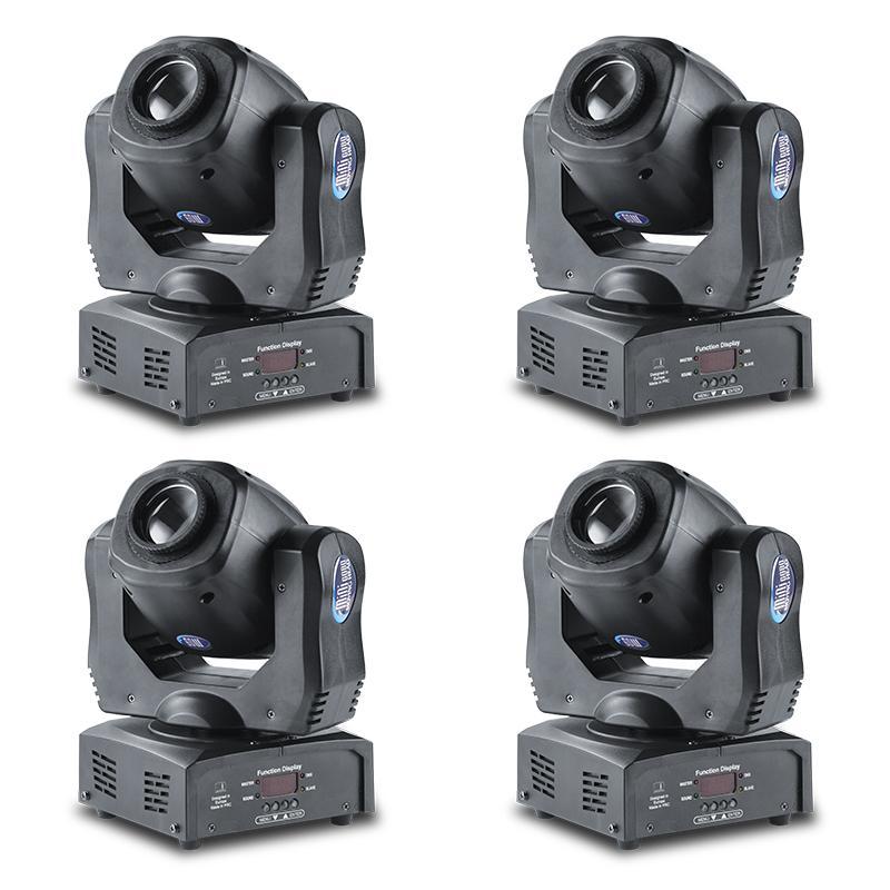 MFL pro alto brillo 60wII DMX 512 de mini punto principal móvil de 60W de luz con 4 premios dejó rotación a la derecha