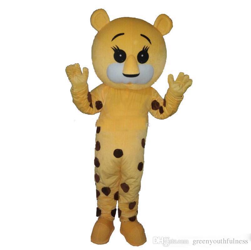 2019 Горячие продажи Пятнистый тигр костюмы талисмана персонажа из мультфильма для взрослых Sz