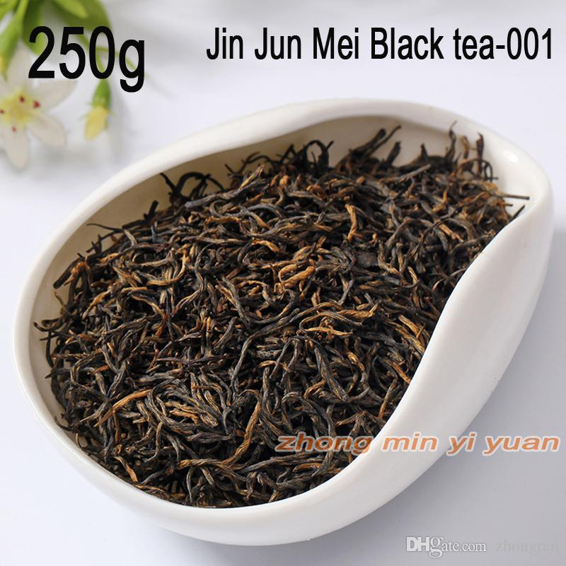 001 vente bon thé La main supérieure Jin Junmei Wuyi Black Tea 2019 printemps nouveau top thé authentique 250g livraison gratuite + cadeau