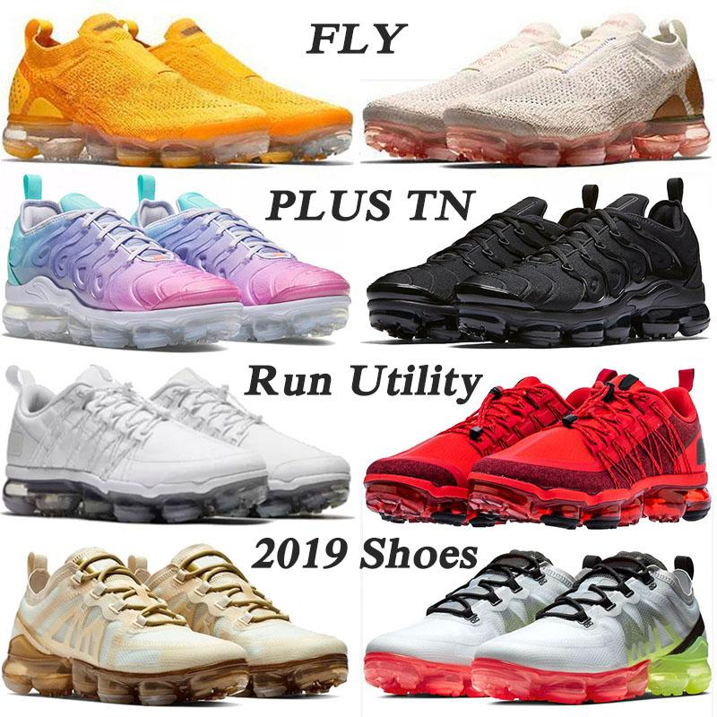 NIKE AIR VAPORMAX PLUS BIG US SIZE 13 TN PLus Designer Sneakers 2020 Stock x Running Shoes for Mens Womens triple black white Pastel Pink speed Trainers