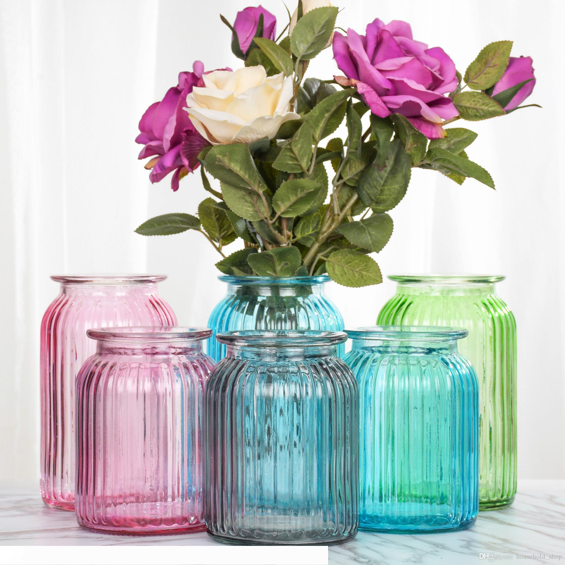 Home Glass Vases Flower Vase Home Decoration Flower Pots For Home Wedding Party Office Tabletop Vase Hot Sale Long Glass Vases For Cheap Long Tall Vases From Boutiquewig01 56 61 Dhgate Com