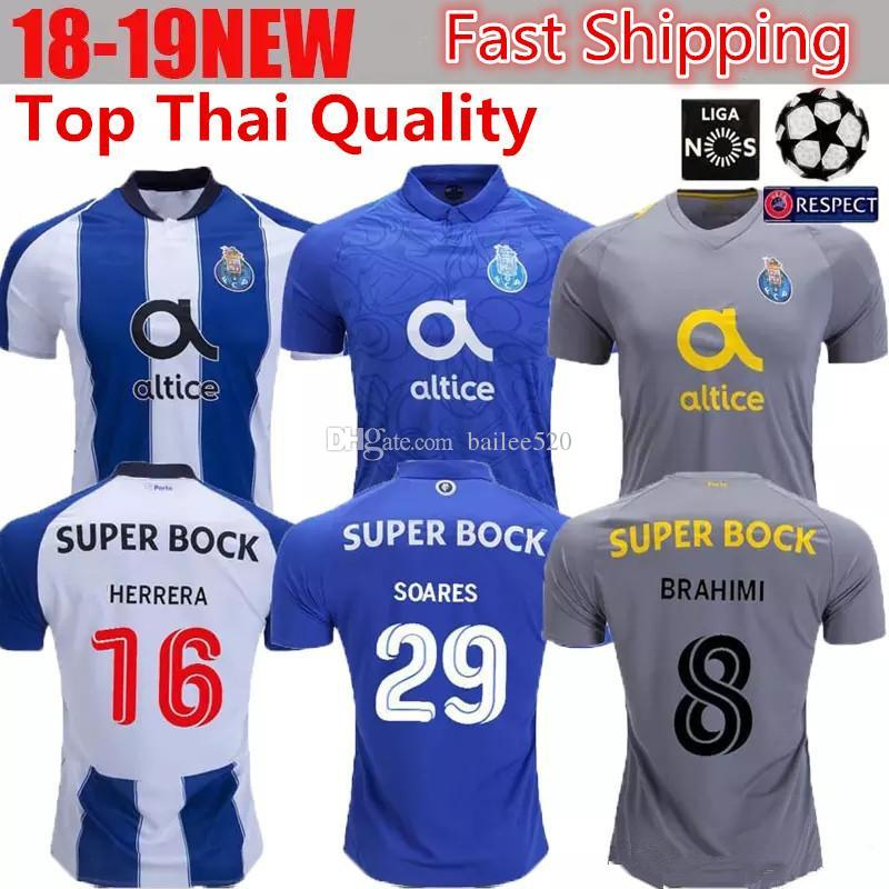 buy popular 3765f 416f7 2018 FC Porto Soccer Jersey 18/19 OLIVER MAREGA Home Away Football Shirts  FELIPE ABOUBAKAR BRAHIMI Player Jerseys OTAVIO Camisa Camiseta Maillot From  ...