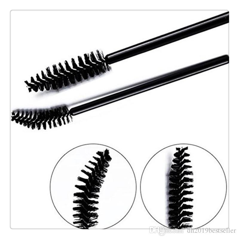 Makeup Brushes Disposable Eyelash Mascara Brushes Applicator Wand Brush Eyelash Extension Brushes Cosmetic Tools Free Shipping High Quality