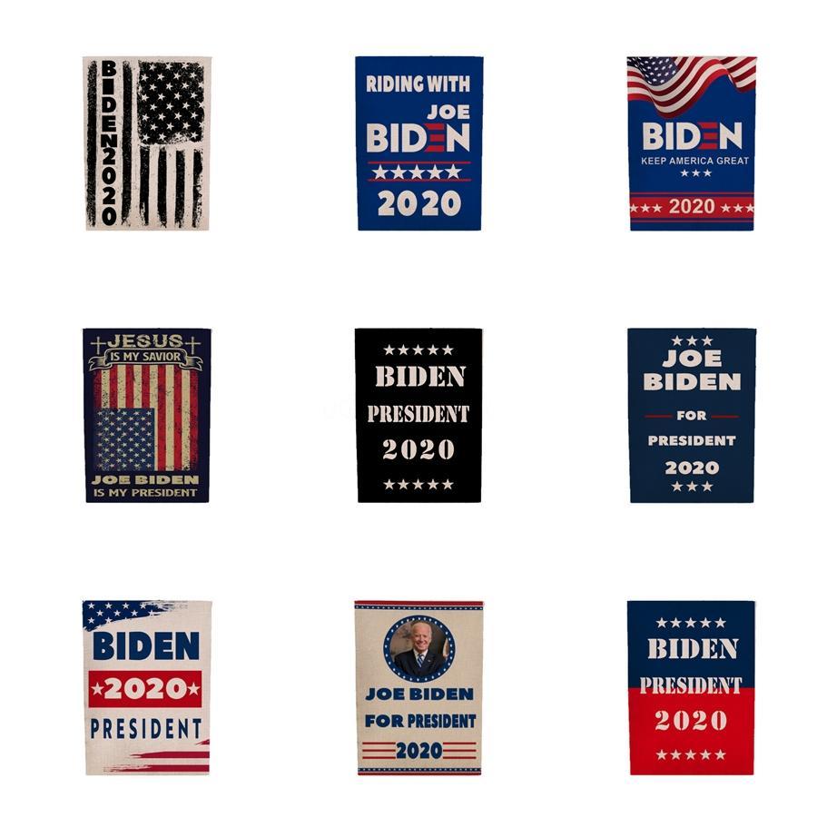 Мода Дональд Байден флаг 2020 45 * 30 см 5 стилей Берни печатных полиэстер США баннер флаг Дональд флаги товары для дома T2I5690 #503