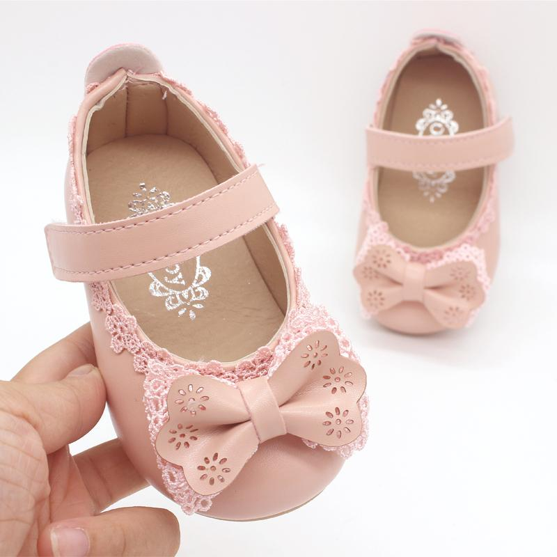 White Pink Baby Toddler Little Girl Bow