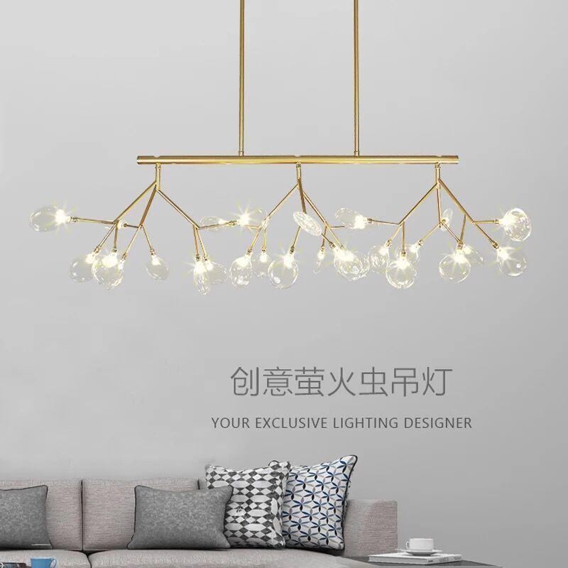 거실 침실 Lamparas Colgantes 북유럽 광택 조명기구 산업 조명기구의 경우 LED 현대 천장 램프