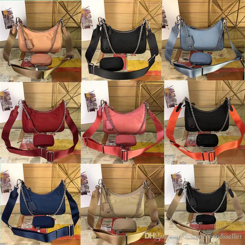 2020 nuovi sacchetti di nylon hobo delle donne crossbody bag in nylon donne di marca catena di borsa del progettista borsa di lusso borse migliori borse Qaultiy
