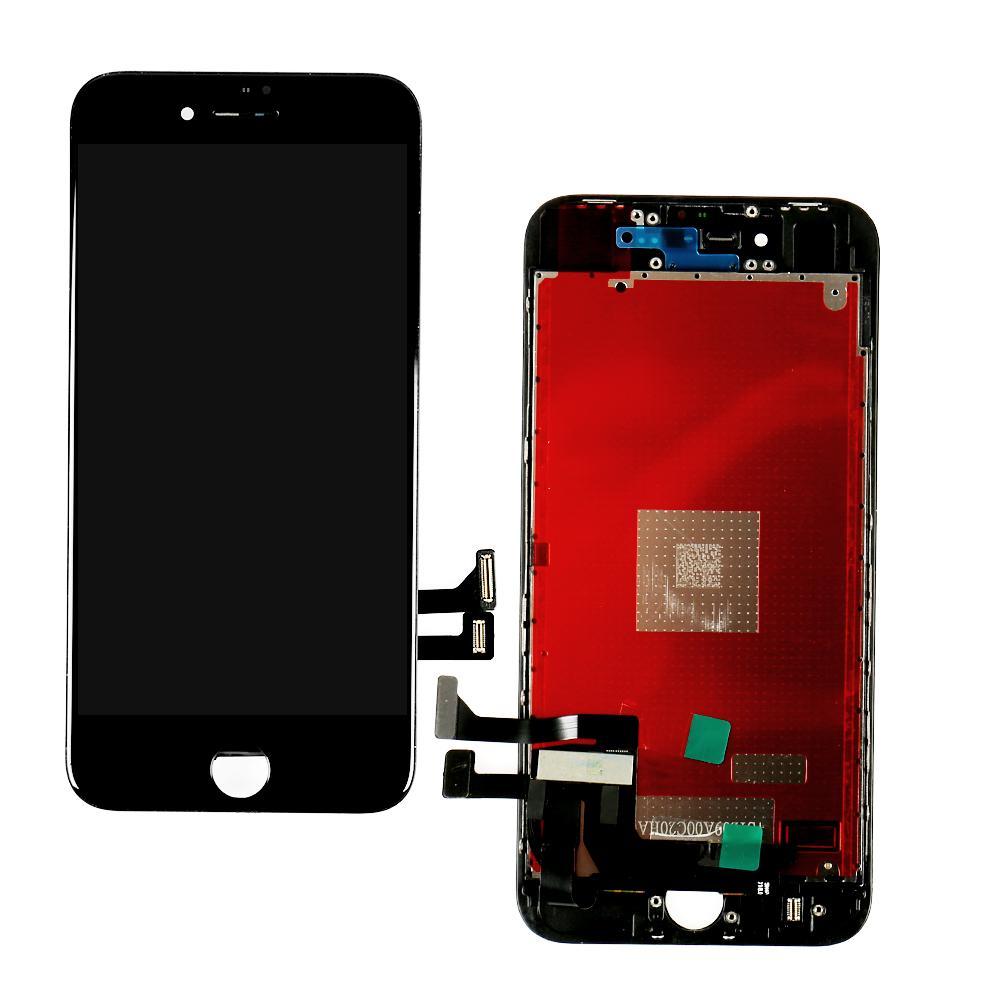 عرض LCD لـ iPhone 8 بالإضافة إلى شاشة اللمس Digitizer تجميع الأجزاء LCD إستبدال لـ iPhone 8p أسود أبيض اللون
