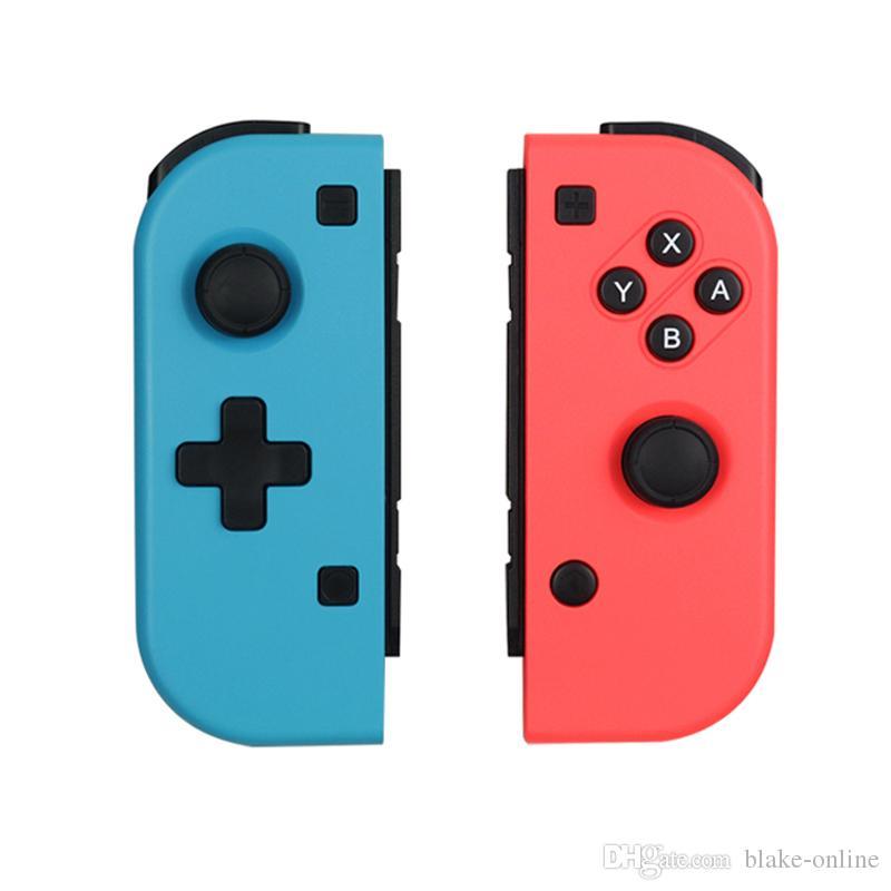 Para Nintend Switch Joy-Con Wireless Bluetooth Pro GamePad Controller a la izquierda y las manijas derecha Joysticks