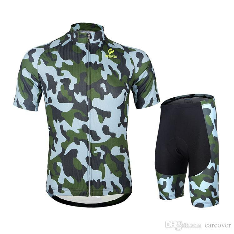Sale Bicycle Bike Team Men Armygreen Riding Clothes Cool Cycling Jerseys New Style Cycling Jerseys Cycling Gear For Elite -Level Racing
