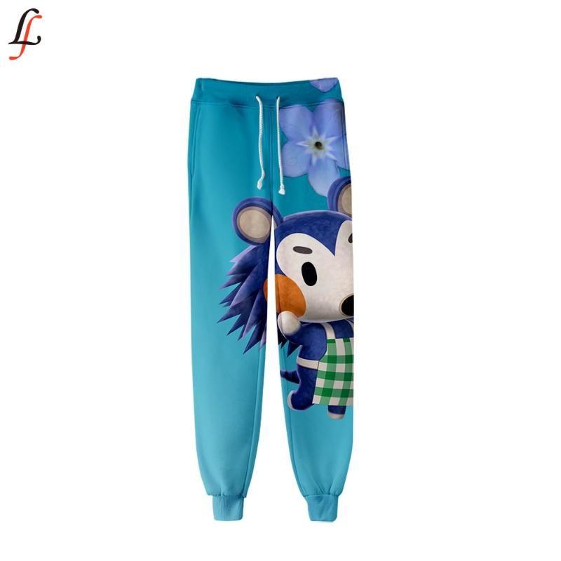 Animal Crossing Jogger Pants Game 3D Print прекрасные спортивные брюки 2020 уличная одежда спортивные брюки популярный новый стиль повседневные длинные брюки