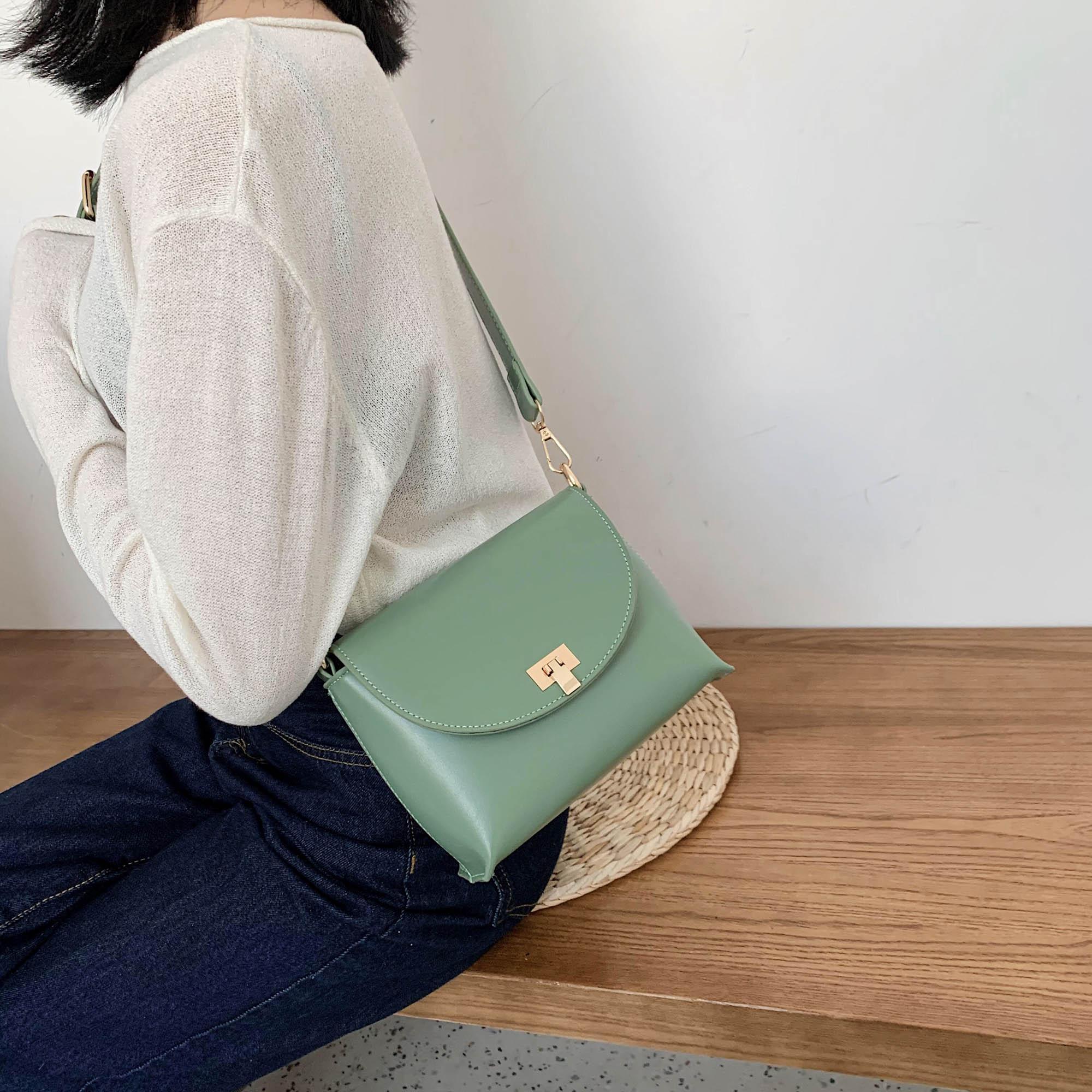 Crossbody Stil Messenger Deri Çanta Küçük Ve Kadınlar Omuz Basit Çanta 2020 PU Lady Kadın Telefon Çanta Çantalar Ogare