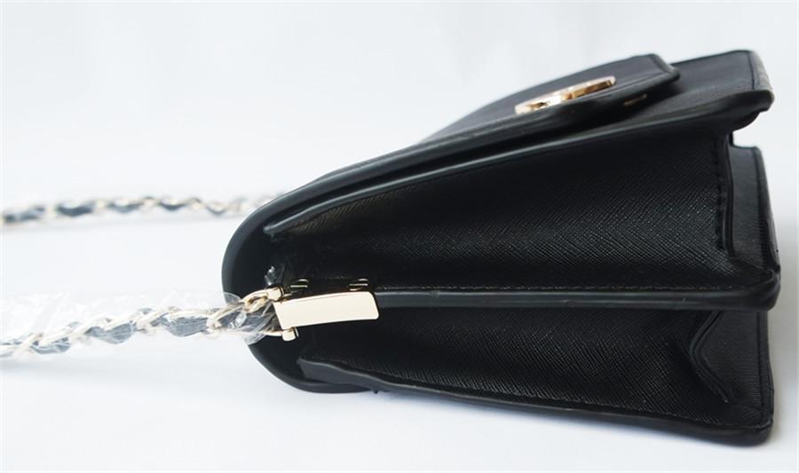 Sac à bandoulière Mode Femmes'S Sac à bandoulière Solid Large Capacitymessenger 2020 Pu cuir Bolsa Femme # T1G # 119