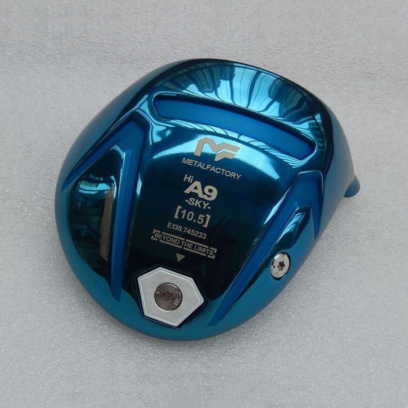 المعادن مصنع A9 SKY غولف رئيس سائق 10.5 درجة METALFACTORY سائقين العلامة التجارية الأزرق نوادي الغولف في الهواء الطلق (فقط الرأس، دون رمح وقبضة)
