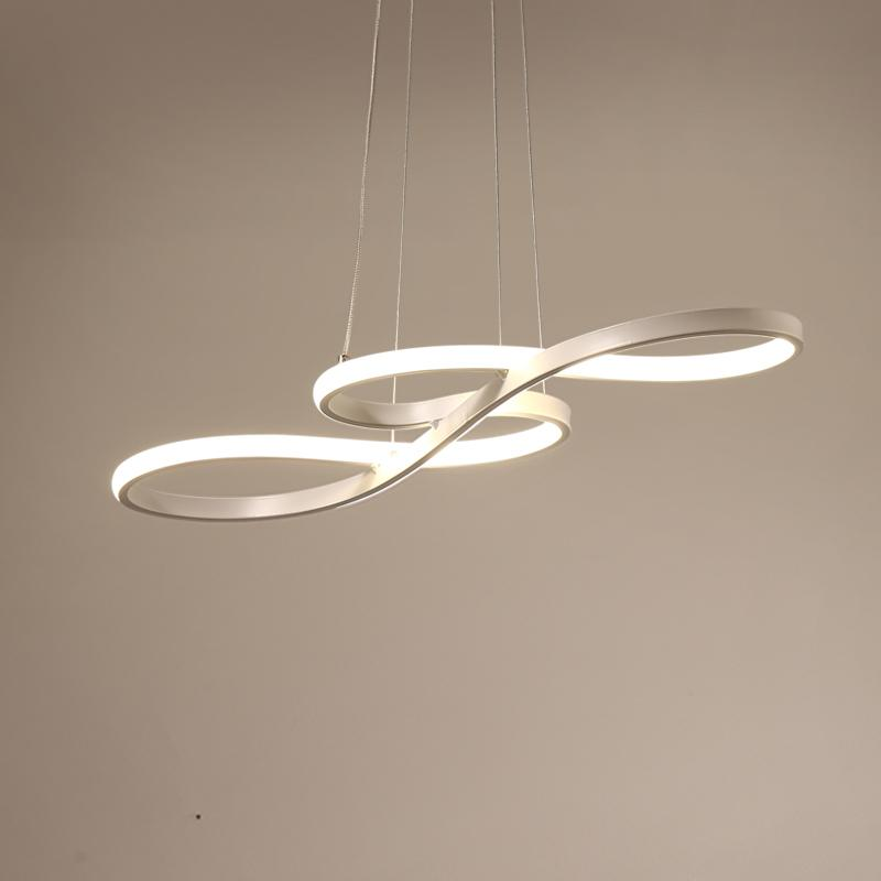 LED ضوء قلادة الشمال الأصالة ملاحظة موسيقية المنحنى مصباح معلق الشخصية النوم مطبخ مطعم الإضاءة
