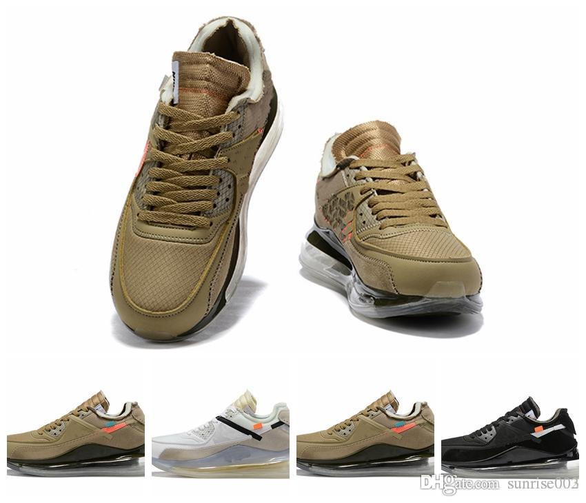 Homens Sapatos para 90 superior inferior almofada de ar com alta qualidade desenhista calça o tamanho 40-46 New disponível Sneakers Athletic