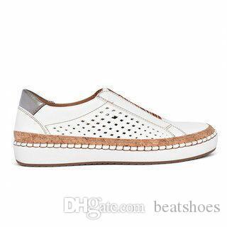 New Designer Mulheres Alpercatas Shoe Moda preguiçosos sapatos oco malha sapatos retro planas respirável Casual Shoes tamanho grande 5 cores