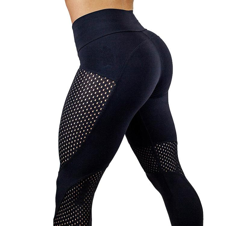 Mulheres calças de yoga de secagem rápida calças esportivas que funcionam roupa da aptidão leggings ginásio de treinamento respirável roupas esportivas para as mulheres ginásio