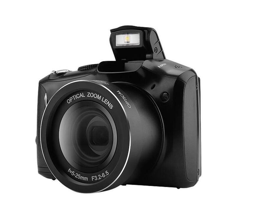 2020 estilo 24MP 720 P HD Recorder Fotocamera Digitale Vlogging filmadora 20X Zoom + 3,5 pollici IPS Display + Flash Light