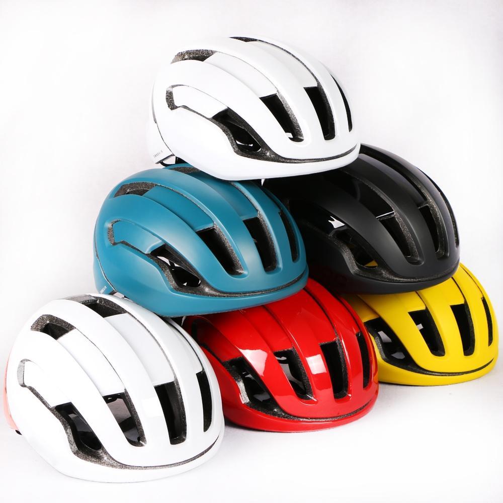 2020 Aire omne Casco de Ciclista que compite con la bici del camino La aerodinámica del viento Casco Hombres Deportes Aero casco de ciclista Casco Ciclismo Ciclismo Cascos