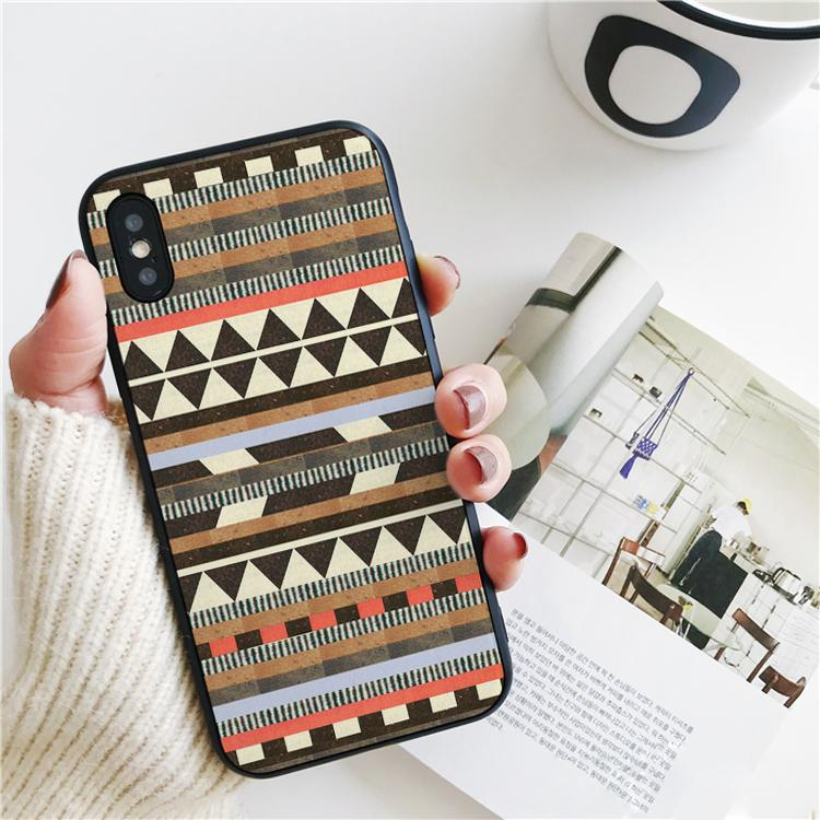 Капа Aztec Обложка для iPhone 11 Pro Xs Max ХГ чехол для iPhone 8 7 6s Plus 5S SE 5 Case Мягкий силиконовый чехол.